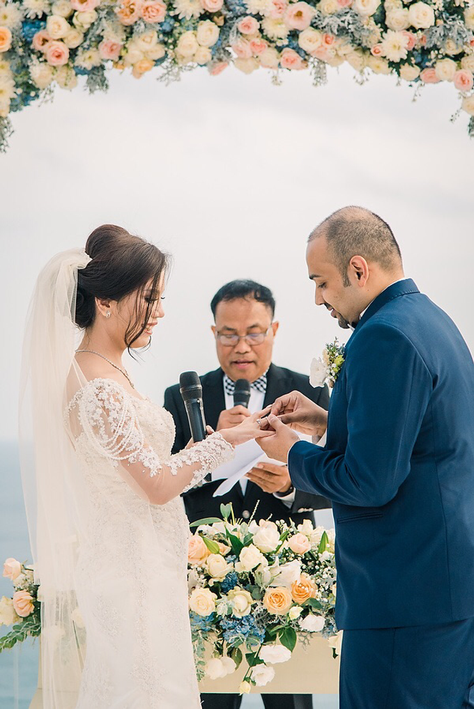 The Wedding of Prasad & Lia by d'Oasis Florist & Decoration - 039