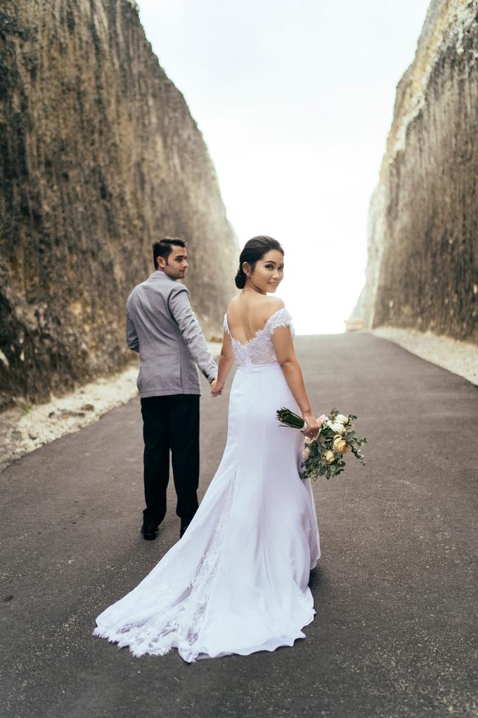 The Pre-wedding of Reza & Cintya by Lis Make Up - 014