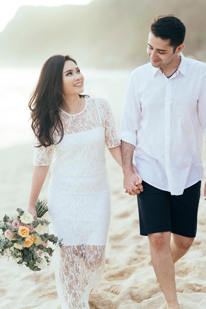 The Pre-wedding of Reza & Cintya by Lis Make Up - 017