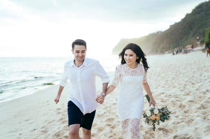 The Pre-wedding of Reza & Cintya by Lis Make Up - 020