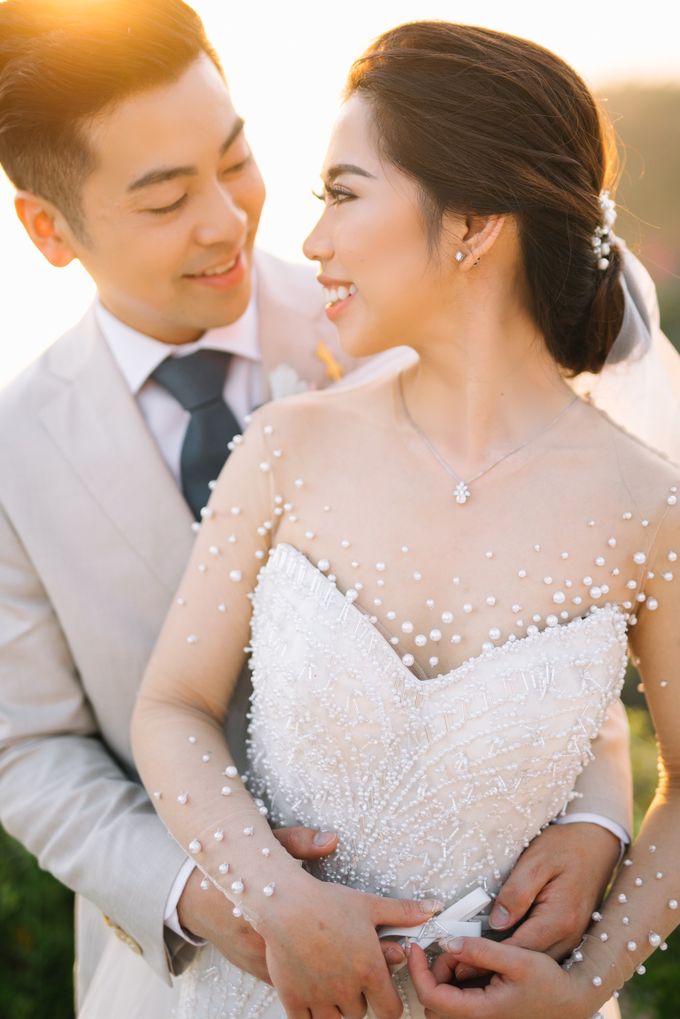 The Wedding of David & Yanie by Lis Make Up - 011