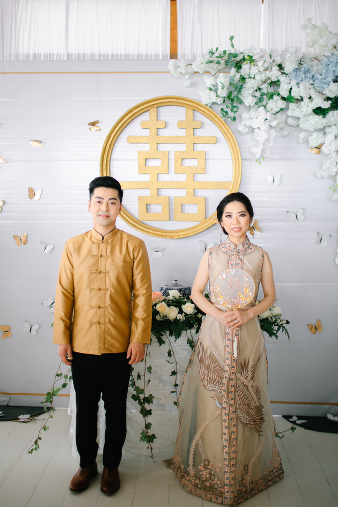 The Wedding of David & Yanie by Lis Make Up - 025