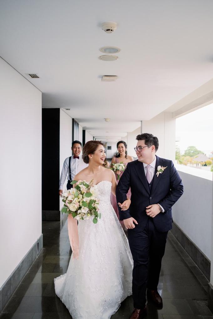 The Wedding of Yogi & Venezia by The Sakala Resort Bali - 015