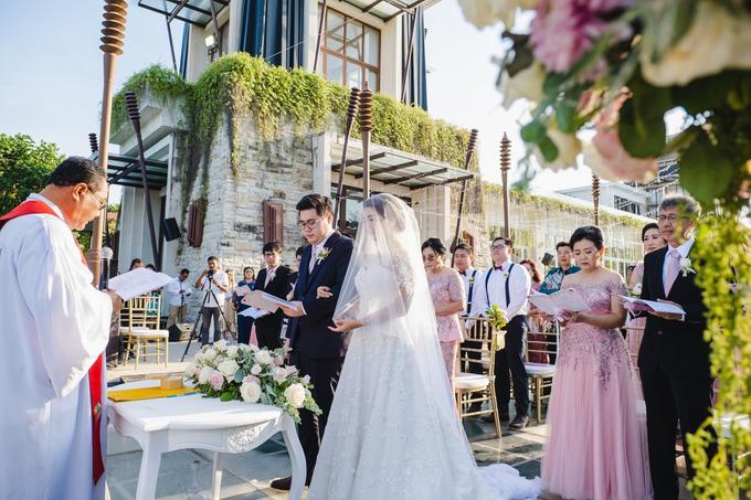 The Wedding of Yogi & Venezia by The Sakala Resort Bali - 022