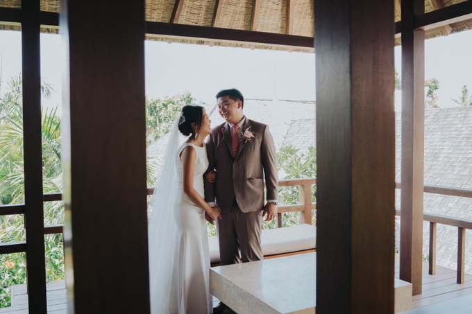 The Wedding of Renaldy & Stephanie by Putri Bali Makeup - 034