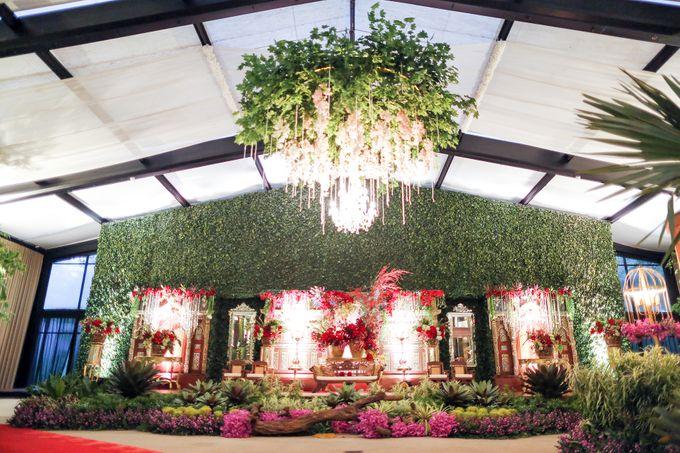 Wedding Reception Zahra Dodit by theSerenade Organizer - 001