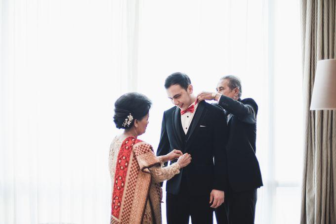 Resepsi Dina Coky dengan sentuhan adat Batak by theSerenade Organizer - 007
