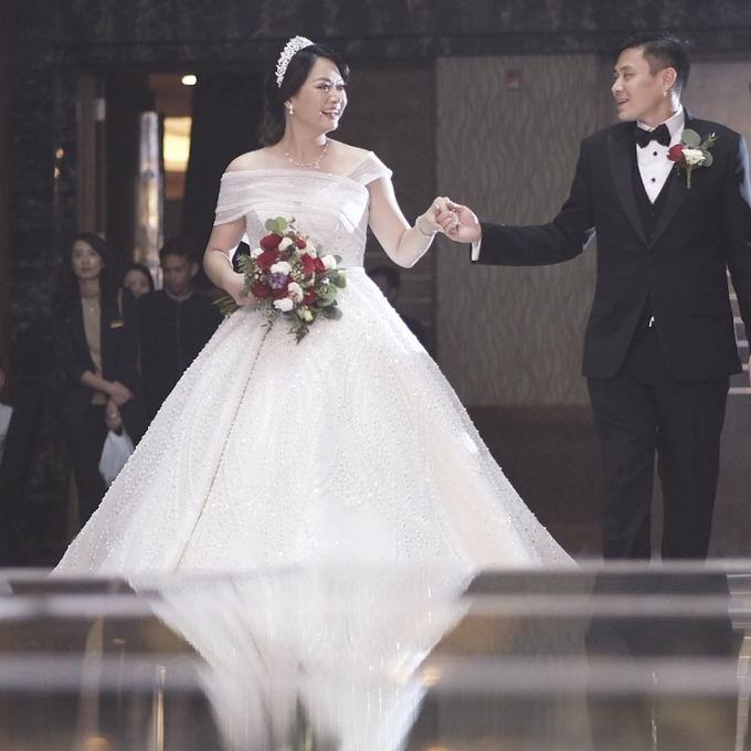 The Wedding of Dem & Phoenix by JW MARRIOTT HOTEL MEDAN - 029