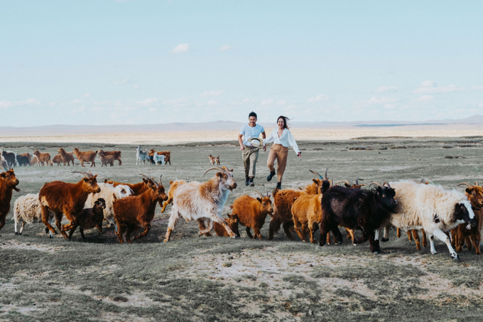 Elopement in Mongolia by The Wildest Dreams - 047