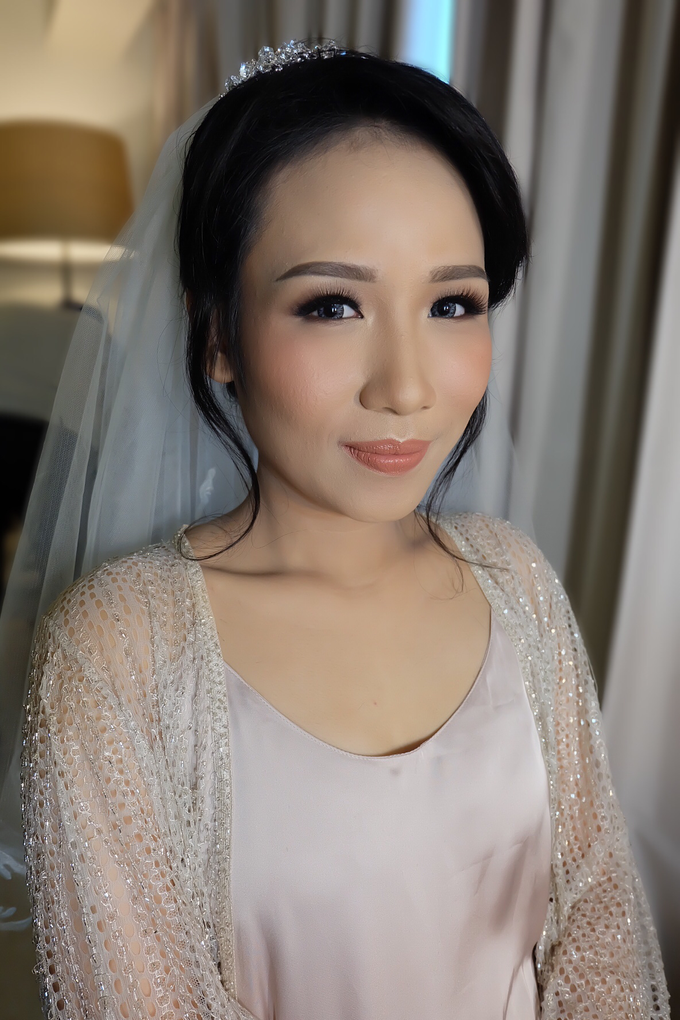 Sherly Wedding by Theiya Makeup Artistry - 010