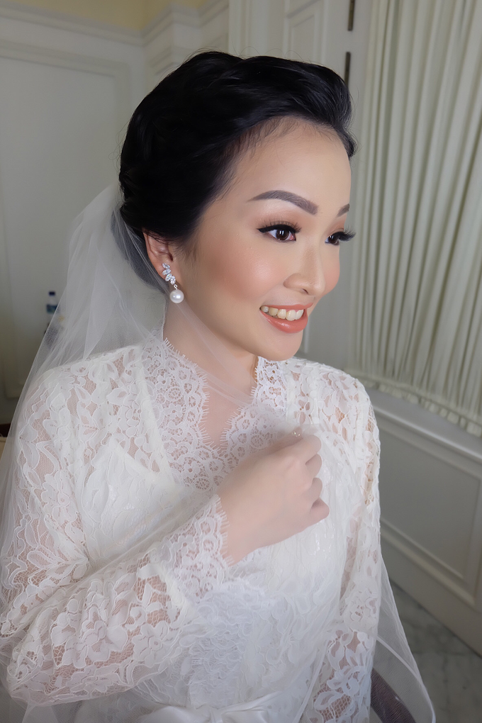 Silvy Wedding by Theiya Makeup Artistry - 003