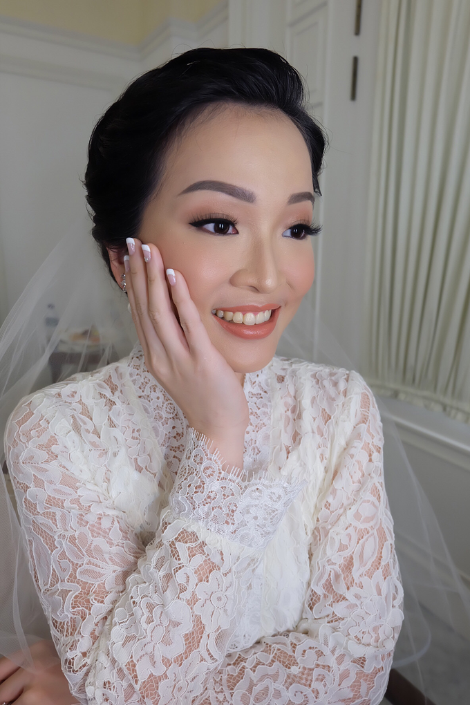 Silvy Wedding by Theiya Makeup Artistry - 001