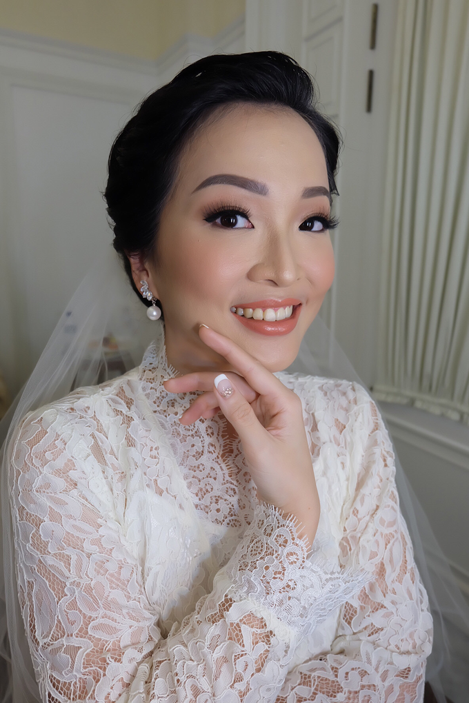 Silvy Wedding by Theiya Makeup Artistry - 002