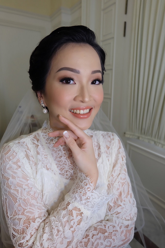 Silvy Wedding by Theiya Makeup Artistry - 005