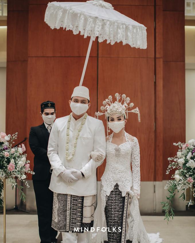 New Normal Betawi Wedding ala Zhavira Sergi by theSerenade Organizer - 007