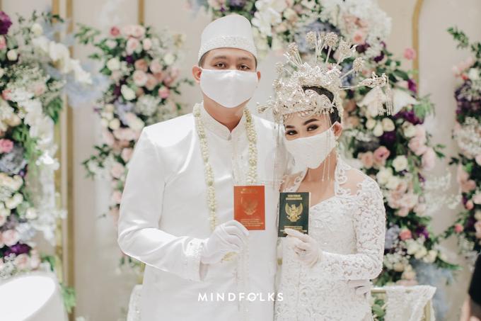 New Normal Betawi Wedding ala Zhavira Sergi by theSerenade Organizer - 008