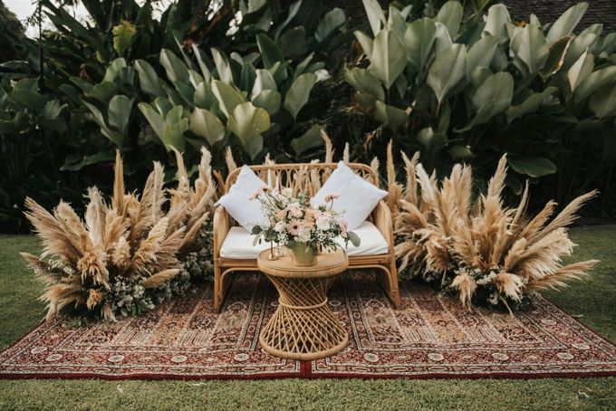 Chill Boho-chic Wedding at Villa Samadhana, Bali by Silverdust Decoration - 022