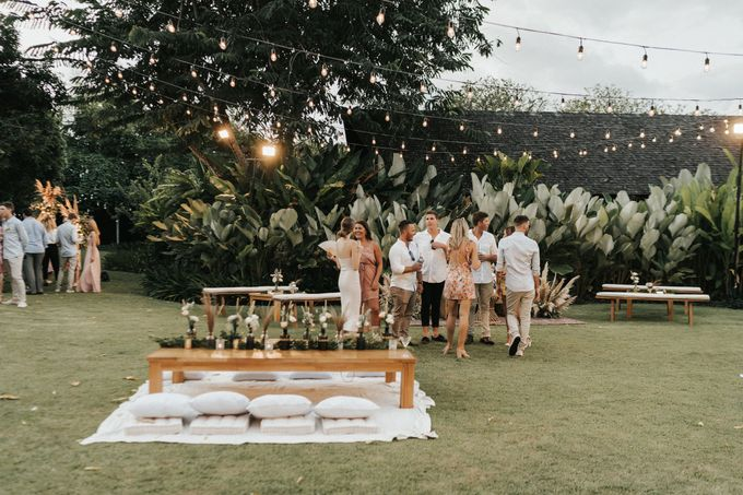 Chill Boho-chic Wedding at Villa Samadhana, Bali by Silverdust Decoration - 025