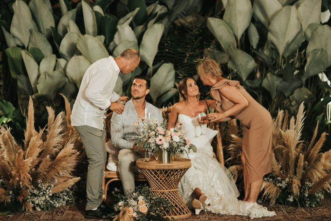 Chill Boho-chic Wedding at Villa Samadhana, Bali by Silverdust Decoration - 030
