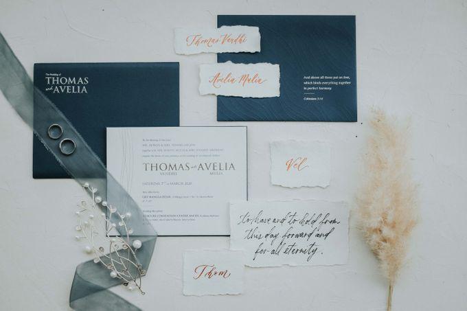 THOMAS & AVELIA WEDDING by Enfocar - 001