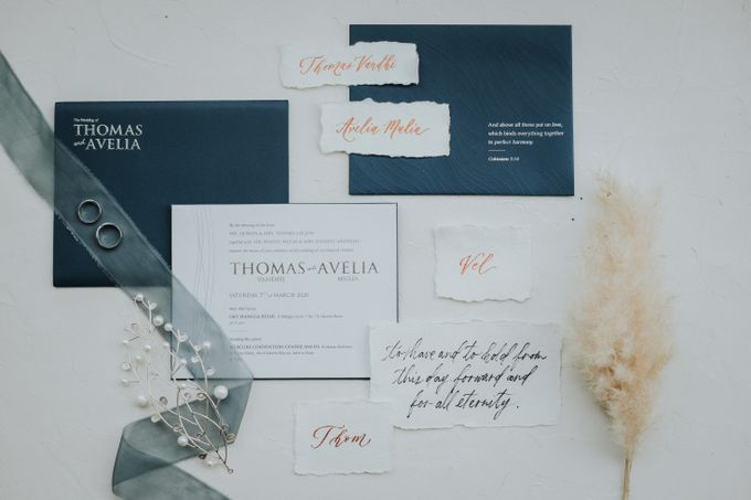 The Wedding of Thomas and Avelia by W The Organizer - 037