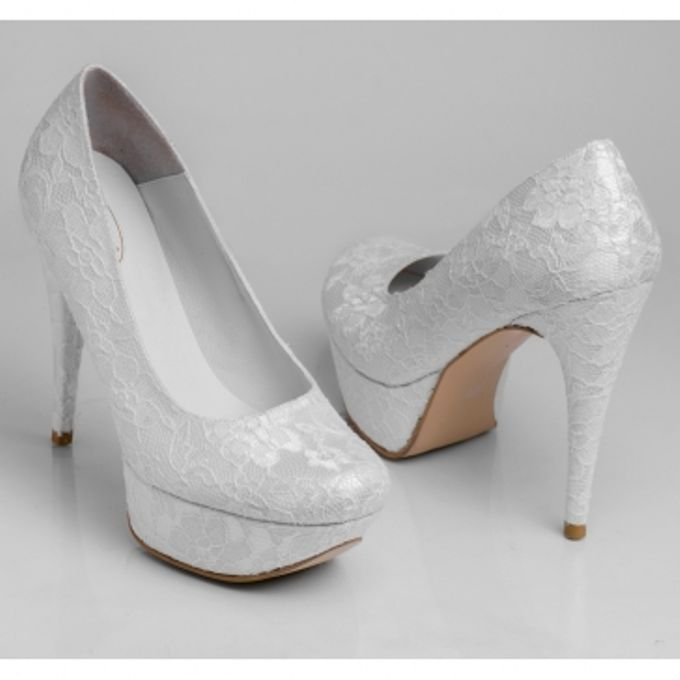 BRIDAL SHOES by Pamela Falli - 049
