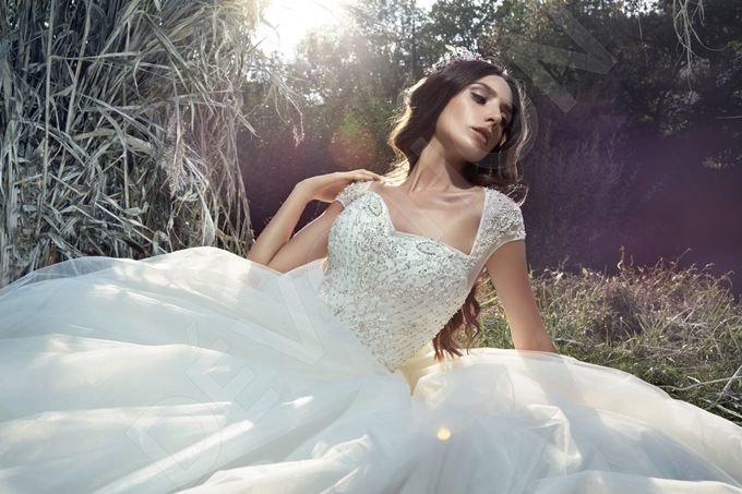 Classic Princess Ball Gown Silhouette Megallie Wedding Dress By Devotiondresses Bridestory Com
