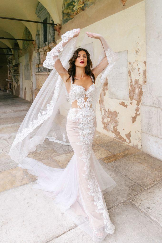 Luxury Trumpet Mermaid silhouette Ashly wedding dress by DevotionDresses - 001
