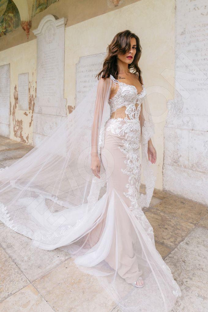 Luxury Trumpet Mermaid silhouette Ashly wedding dress by DevotionDresses - 003