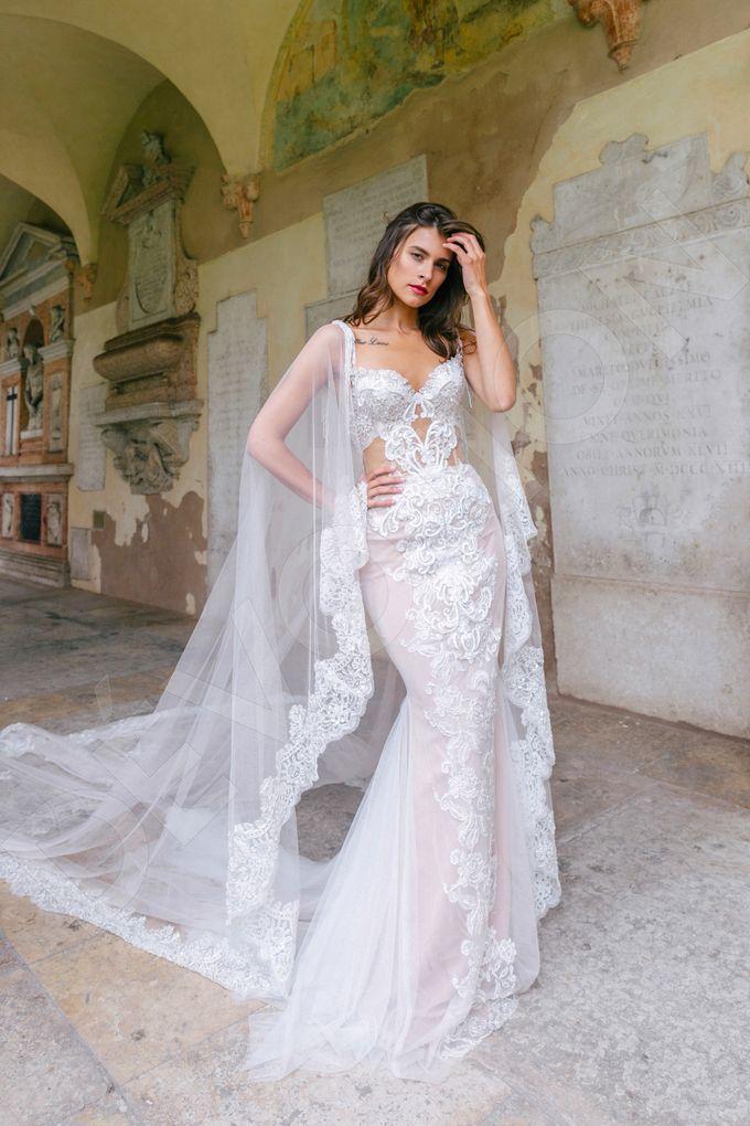 Luxury Trumpet Mermaid silhouette Ashly wedding dress by DevotionDresses - 004
