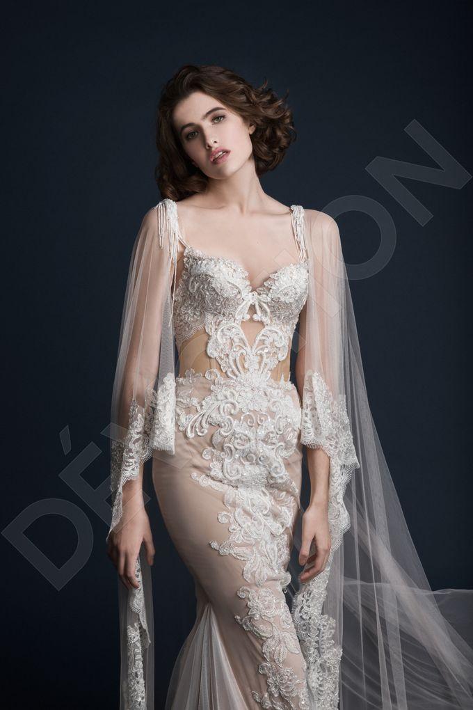 Luxury Trumpet Mermaid silhouette Ashly wedding dress by DevotionDresses - 007