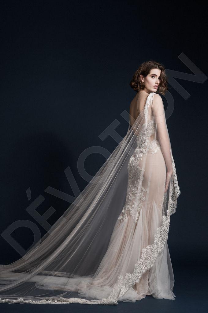 Luxury Trumpet Mermaid silhouette Ashly wedding dress by DevotionDresses - 009