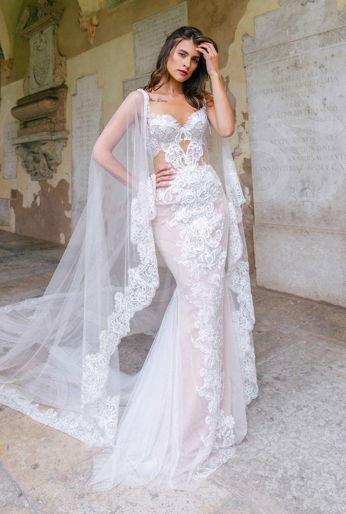 Luxury Trumpet Mermaid silhouette Ashly wedding dress by DevotionDresses - 006