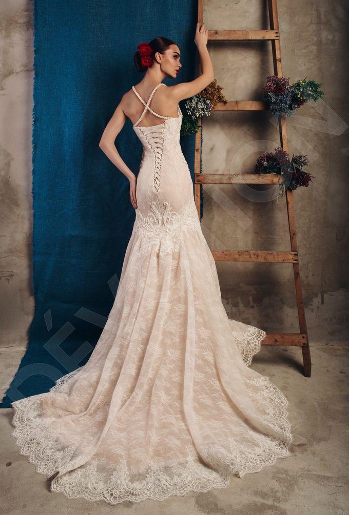 Luxury Trumpet Mermaid silhouette Virdjiniya wedding dress by DevotionDresses - 003