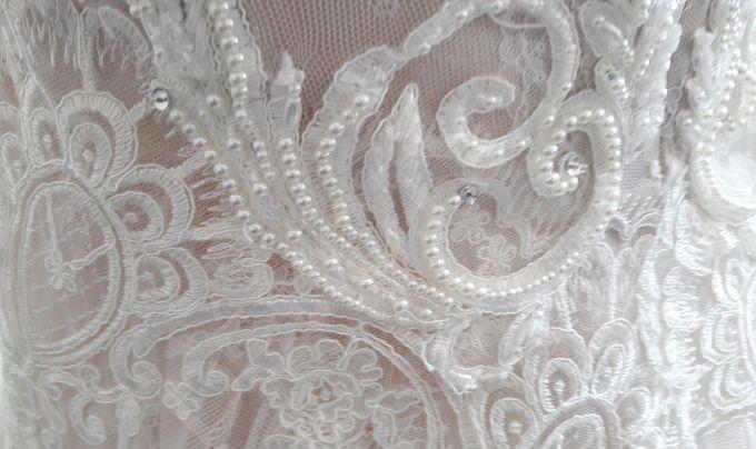 Luxury Trumpet Mermaid silhouette Virdjiniya wedding dress by DevotionDresses - 004