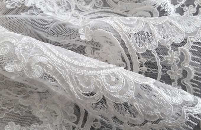 Luxury Trumpet Mermaid silhouette Virdjiniya wedding dress by DevotionDresses - 007