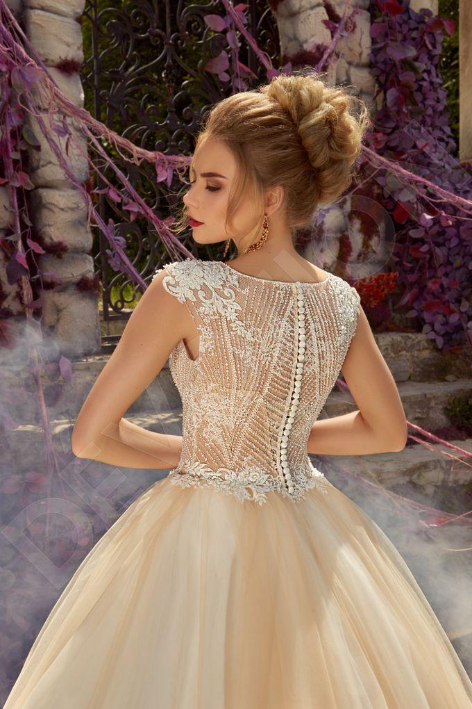 Luxury Princess Ball Gown silhouette Arna wedding dress by DevotionDresses - 004