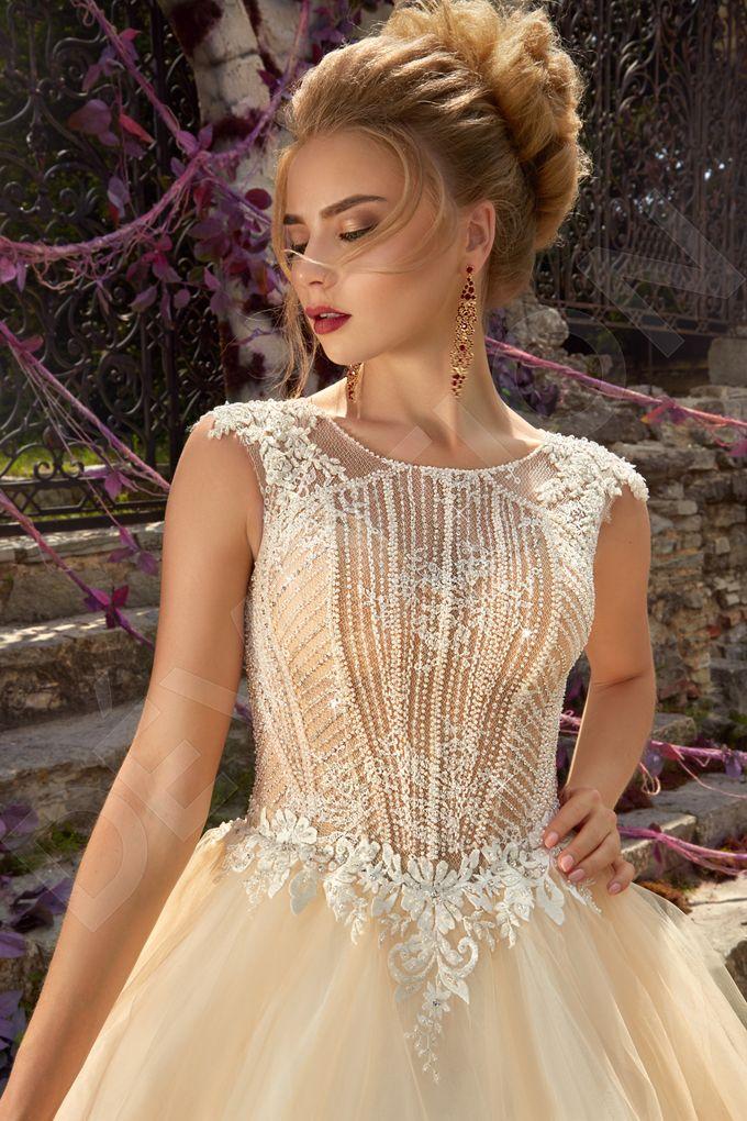 Luxury Princess Ball Gown silhouette Arna wedding dress by DevotionDresses - 002