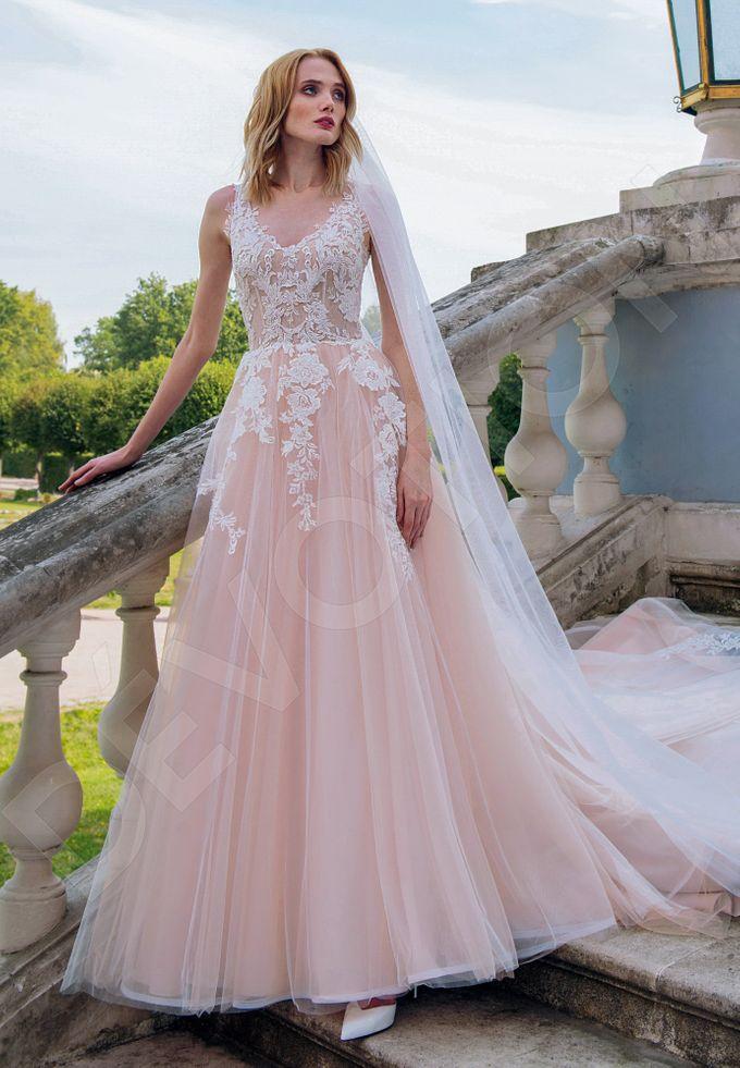 Luxury Princess Ball Gown Silhouette Rosalia Wedding Dress Devotiondresses Bridestory