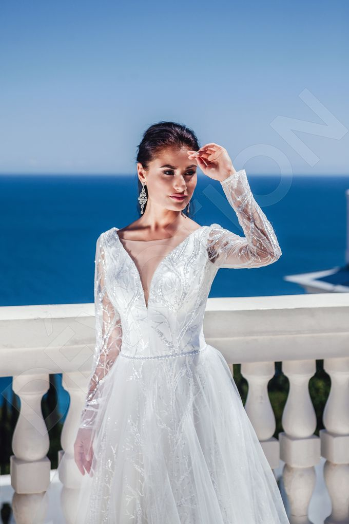 Luxury Princess Ball Gown silhouette Tama wedding dress by DevotionDresses - 006