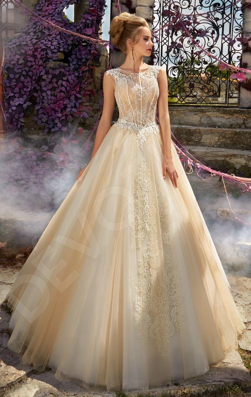 Luxury Princess Ball Gown silhouette Arna wedding dress by DevotionDresses - 005