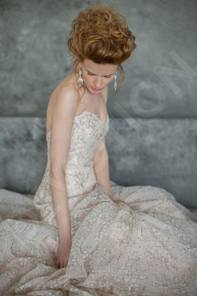 Luxury A-line silhouette Nilly wedding dress by DevotionDresses - 007
