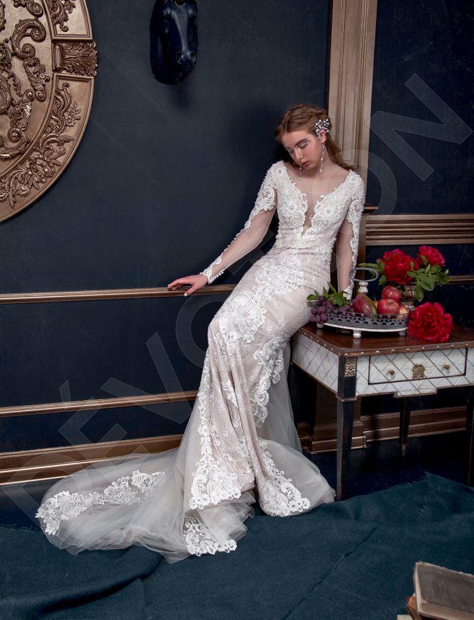 Luxury Trumpet Mermaid silhouette Verania wedding dress by DevotionDresses - 005