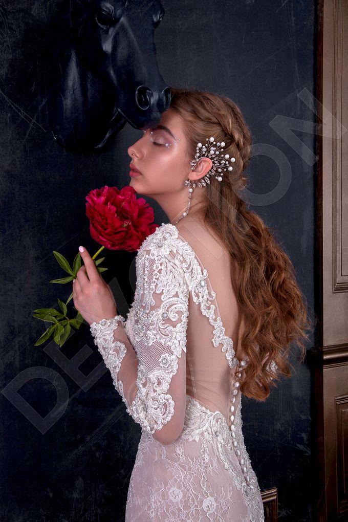 Luxury Trumpet Mermaid silhouette Verania wedding dress by DevotionDresses - 003