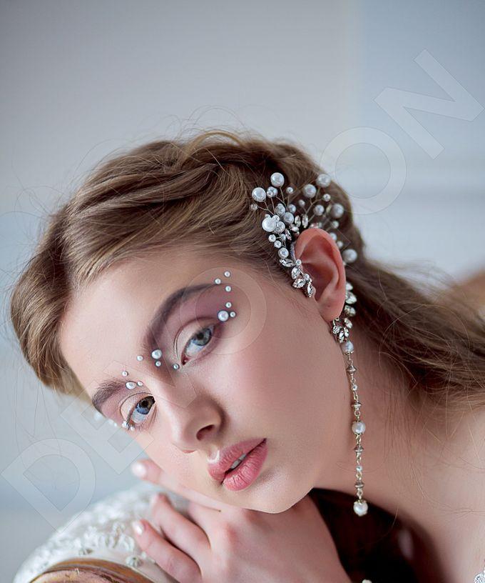 Luxury Trumpet Mermaid silhouette Verania wedding dress by DevotionDresses - 007