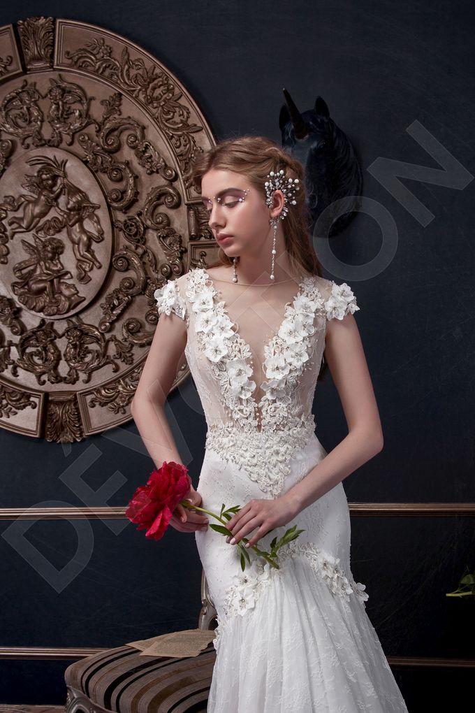 Elegant Trumpet Mermaid silhouette Milta wedding dress by DevotionDresses - 001