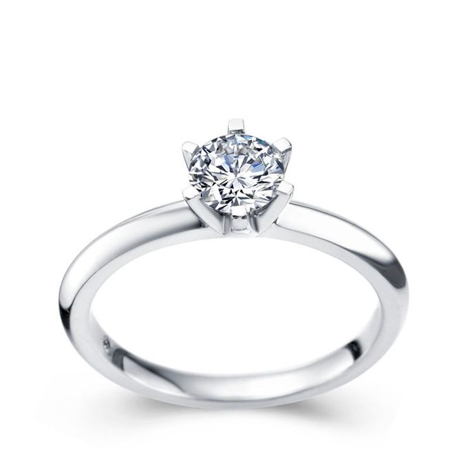 TIARIA Eternity Diamond Engagement Ring Cincin Tunangan Berlian by TIARIA - 002