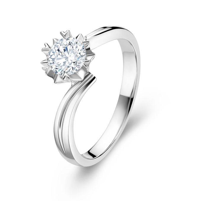 TIARIA Snowflake Diamond Engagement Ring Cincin Tunangan Berlian by TIARIA - 001