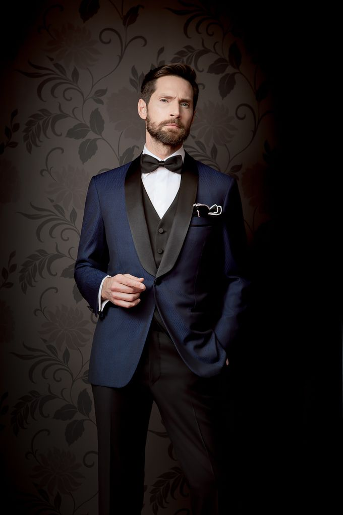 Custom tailored Wedding Suit from Italy by Uomo Collezioni - 003