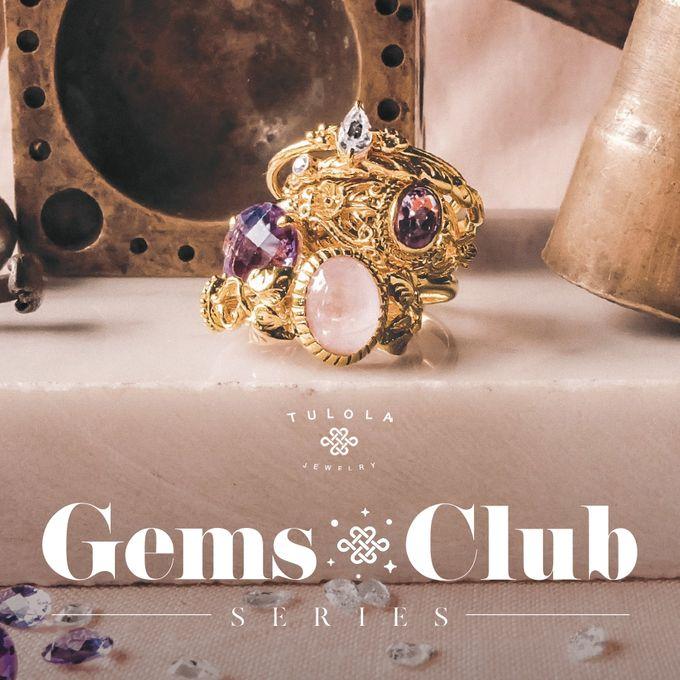 "Gemsclub ""Lavender Gem Series"" by Tulola - 001"